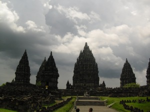The beautiful Prambanan :)