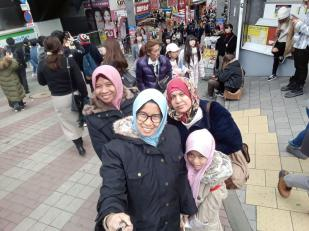 Wefie in Harajuku